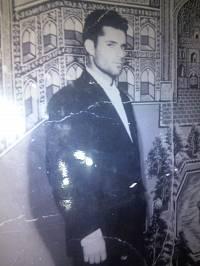 شهید علی میاندره در سن 22 سالگی