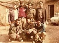 شهید علی میاندره به همراه شهید علی پاسندی در سپاه کردکوی
